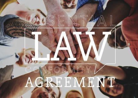 Law control legal regulations society Stok Fotoğraf
