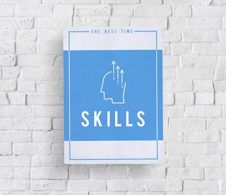 Montrer les idées créatives, capacité, mot, graphique, illustration Banque d'images - 82421974