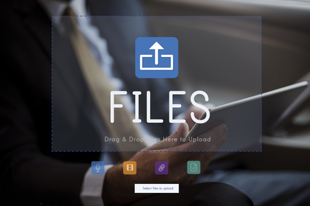 Files are typically arranged in a particular order.