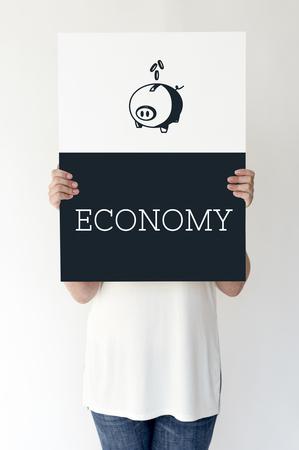 Piggy Bank Future Money Savings Investment Graphic