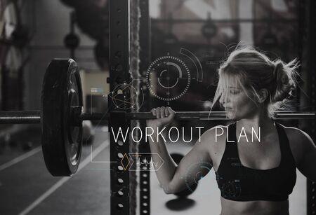 Wellness Health Lifestyle Workout Graphic Word 版權商用圖片