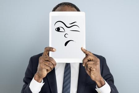 Drawing Facial Expressions Emotions Feelings Banco de Imagens