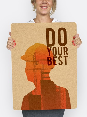 Motivation Message Quotation Aspiration Graphic Stock Photo - 82449723