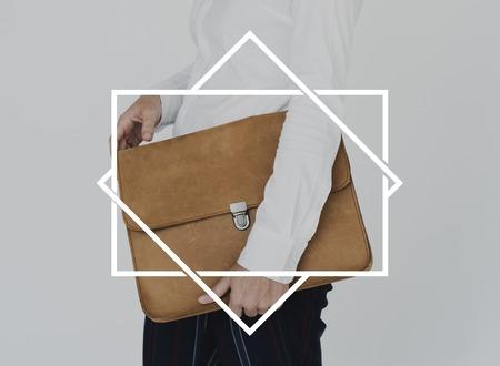 Carré rectangle box bannière emblème graphique Banque d'images - 82398288