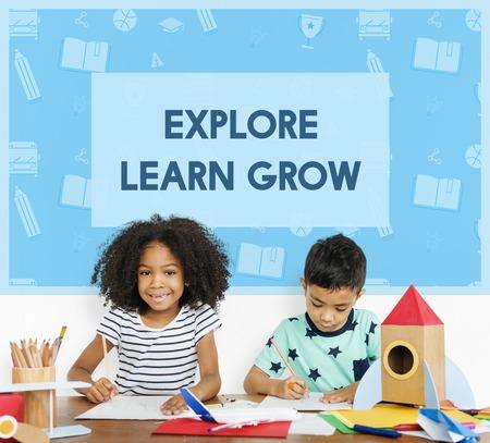 School Wisdom Early Education Concept