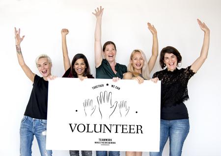 Volunteer support assist charity help
