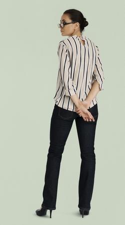Woman Confidence Self Esteem Portrait Concept Stock Photo - 82718180