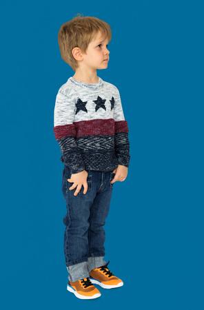 少年の子供ファッション楽しみ子供若い 写真素材