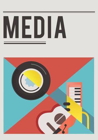 Digital music is a mobility entertainment. Reklamní fotografie