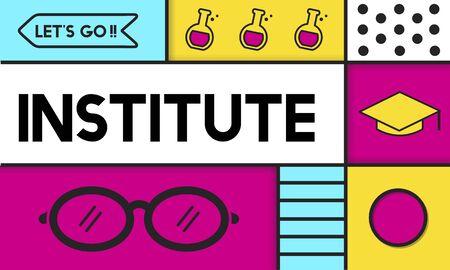 학교 학습 지식 연구소 아카데미 스톡 콘텐츠