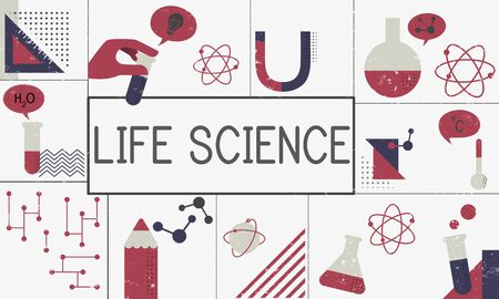 생명 과학 생물학 화학 개념 스톡 콘텐츠