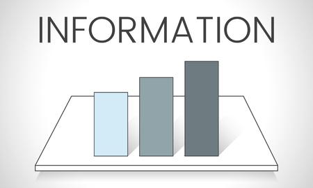 Illustration de l'analyse graphique métier Banque d'images - 82353833