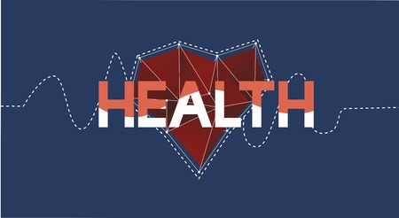 Health Wellness Heart Icon Symbol Concept