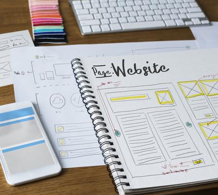 Web Design Creative Design Creativity Ideas Connection Stock Photo
