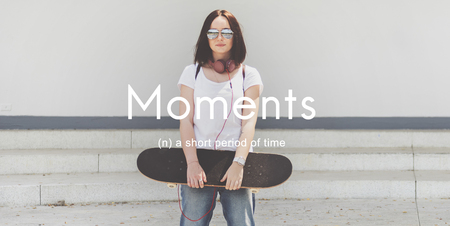 Moments Period of Time Life Momeries Concept Reklamní fotografie