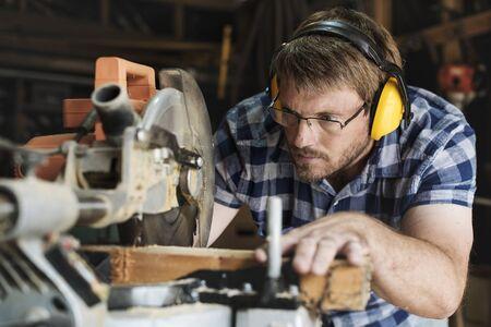 大工職人木材木材木工コンセプト