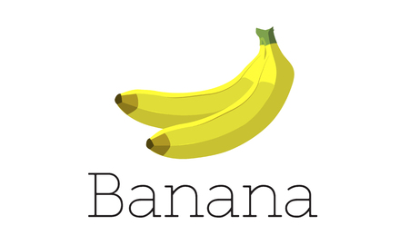 Plátano maduro natural fruta potasio Foto de archivo - 82721620
