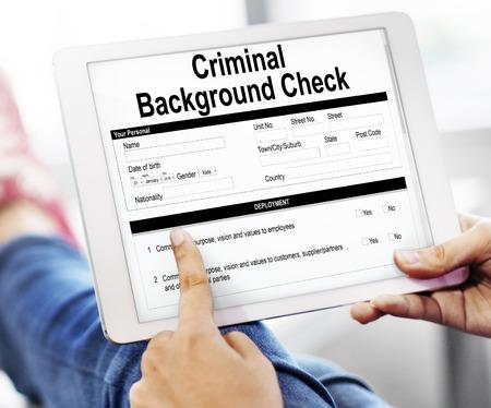 犯罪歴チェック保険フォーム コンセプト