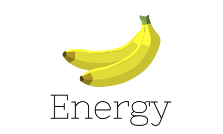 Illustrazione di banane organiche fresche fresche Archivio Fotografico - 82722122