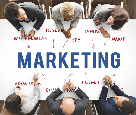 Marketing Business Company Strategy Concept