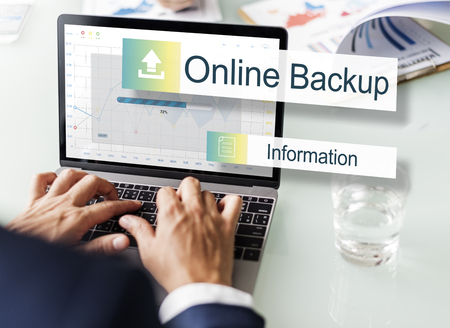 Online Backup Storage Transfer Concept