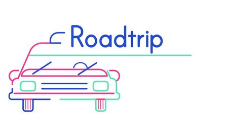 Illustration of automotive car rental transportation Stock Illustration - 82722235