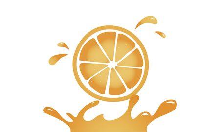 신선한 자연 오렌지 유기 과일 그래픽 스톡 콘텐츠 - 82748358