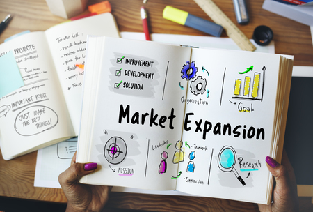 New Business Market Venture Expansion Growth Фото со стока - 82723506