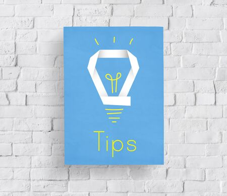 Creative Innovation Inspiration Light Bulb Graphic Word Stock Photo