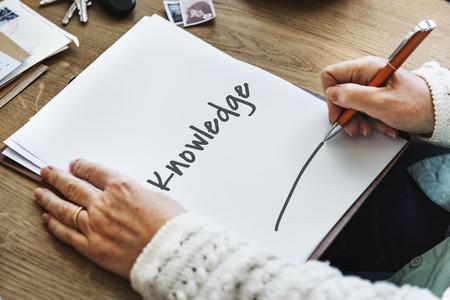 Knowledge Education Intelligence Insight Wisdom Concept Stock fotó