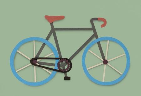 自転車自転車趣味アイコン シンボル 写真素材 - 82749595