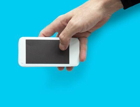 Studio Hands Shoot Holding Objects Banco de Imagens