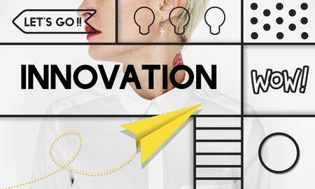 pierce: Innovation Invention Modern Technology Concept