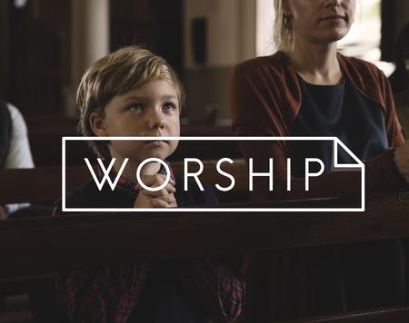 Aanbidding Geloof Geloof Religie Grace Hope Stockfoto