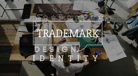 マーケティング ビジネス マーケティング商標デザインのアイデンティティ 写真素材