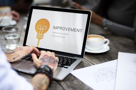 Improvement Better Change Progress Innovation Stock Photo - 82795414