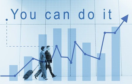 You Can Do It Quote Aspiration Optimistic Фото со стока
