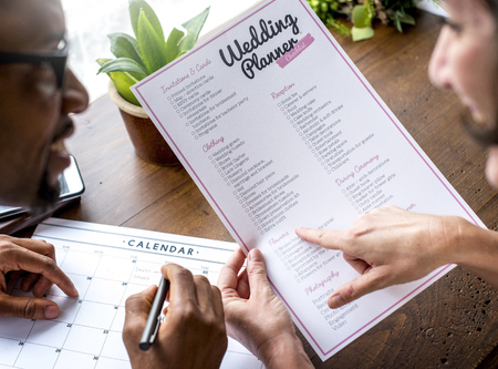 Koppel beslissing voor trouwplanner