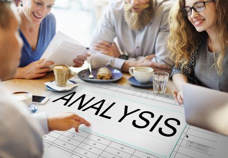 Progress Analyse Strategie Planning Organiseren Stockfoto