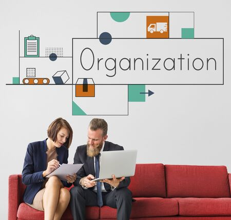 비즈니스 서비스 마케팅 또는 의사 결정 그래픽