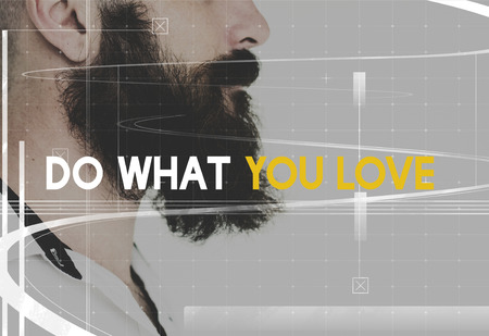 Do What You Love concept Foto de archivo - 113992411