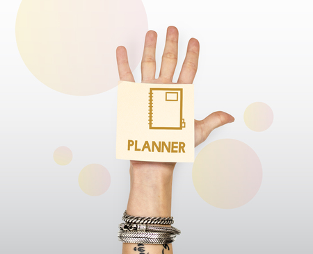 Plan Planner Agenda To Do Concept Stock Photo