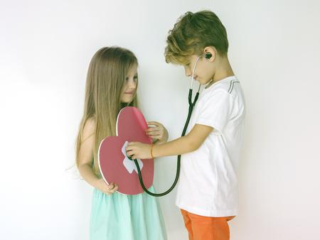 Couple Kids Friend Togetherness Protrait