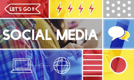 techie: Social Media Graphic Communication Icon