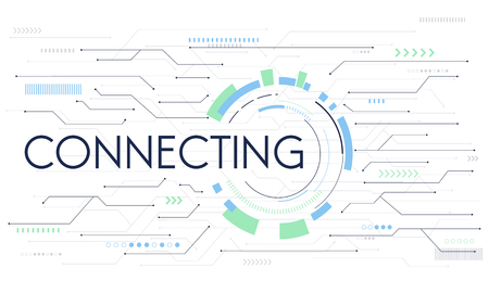 Connecting Network Internet Global Digital