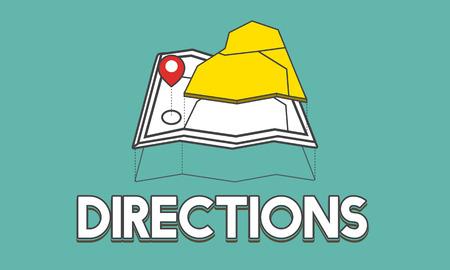 GPS 위치지도 여행 그래픽 스톡 콘텐츠