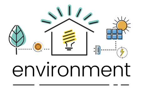 Ambiente Sustentabilidade Eco Friendly Concept Foto de archivo - 82883545