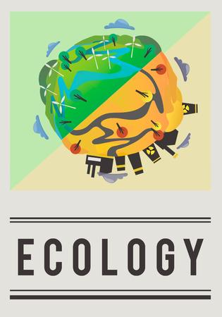 Salva il mondo Terra Earth Concept Archivio Fotografico - 82861140