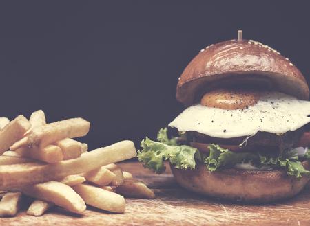 Fries Brunch Food Meal Eating Grilled Tasty