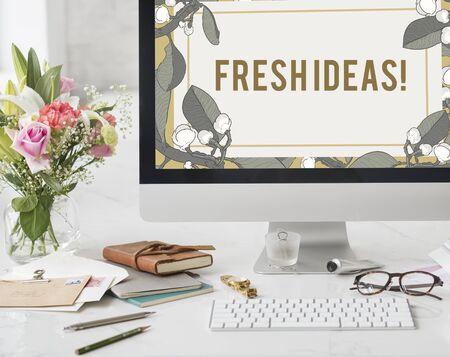 Idee Creative Design Inspire Freshideas Archivio Fotografico - 82916937